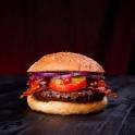 ...und dem Bacon Burger und...