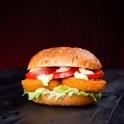 Insgesamt hat unser Lebensmittelfotograf 18 Burger und mehrere Salate abgelichtet