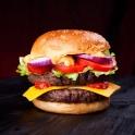 Unser Food Fotograf widmete sich bei diesem Shooting unzähligen saftigen Burgern