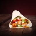 Neben Burgern fotografierte unser Food-Fotograf Christian Belzer auch Wraps