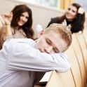 Die Pause zwischen den Lehrveranstaltungen wird optimal genutzt