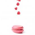 Im Nachgang wurden die Zutaten in einer Montage mit den Macarons in Zusammenhang gebracht