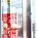 Schwerpunkt waren Brandschutzelemente, die auf der neuen Homepage verwendet werden sollen