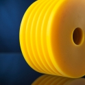 Die Kunststoffe Produkte sind entstehen durch Sägen, Hobeln, Drehen oder Fräsen.
