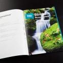 Neben vielen Etiketten wurde auch ein neuer zweisprachiger Katalog gestaltet