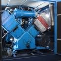 Werbefotografie im Kompressorraum von TIS Erftstadt