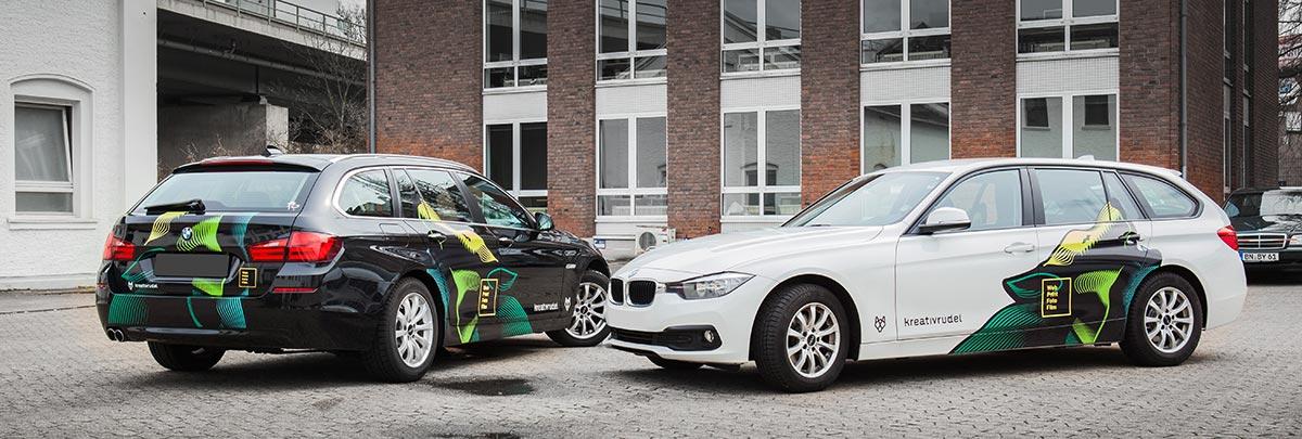 Fahrzeugverklebung Design und Produktion