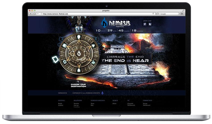 Nemesis Festival Design