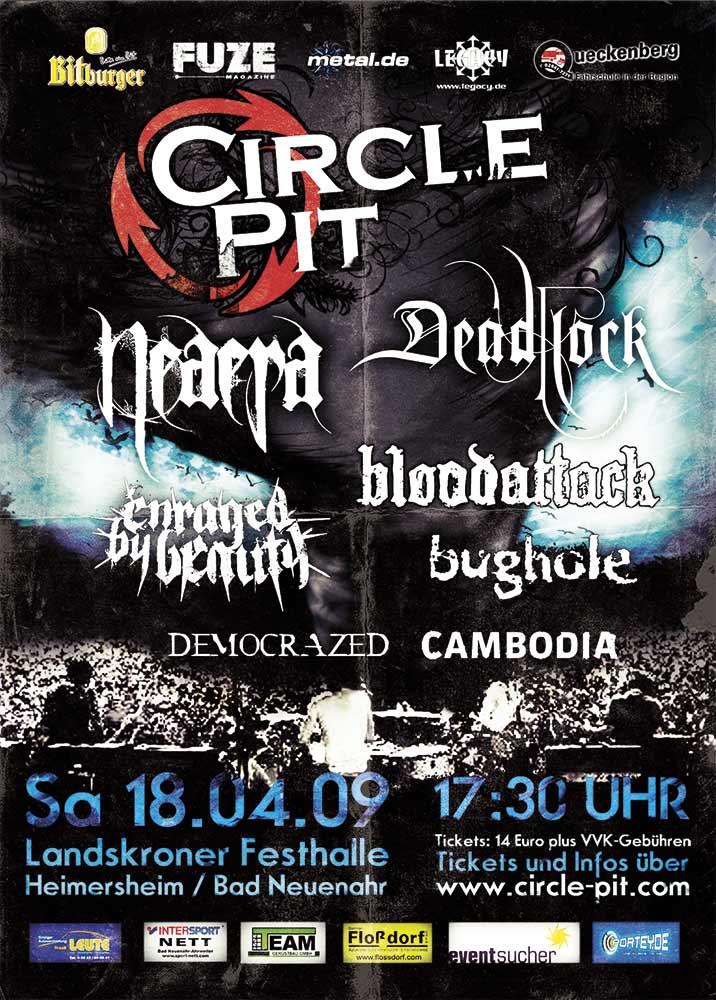 Circle Pit Poster 2010 Design