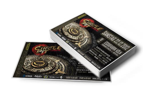 Circle Pit Festivalticket 2012