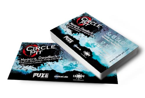 Circle Pit Festivalticket 2010
