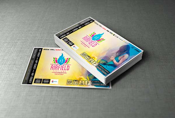 Ticketdesign VIP-Ticket
