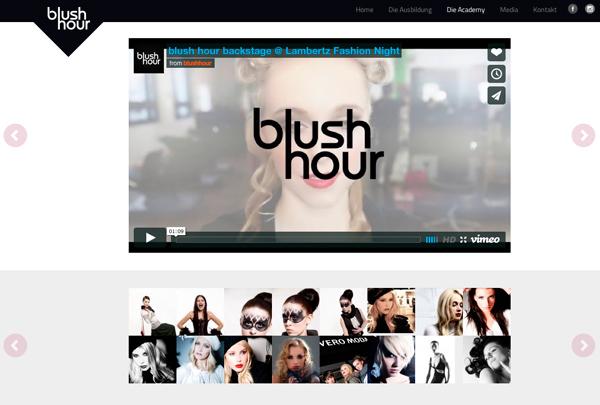 Multimediale Inhalte auf Webseite