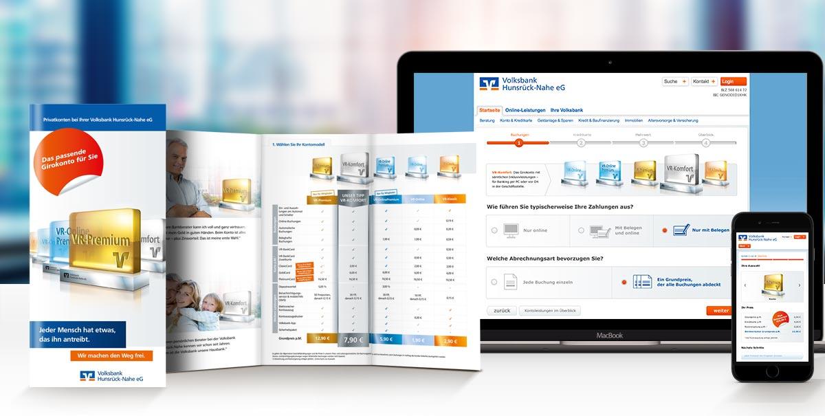 Webapplikation und Printdesign