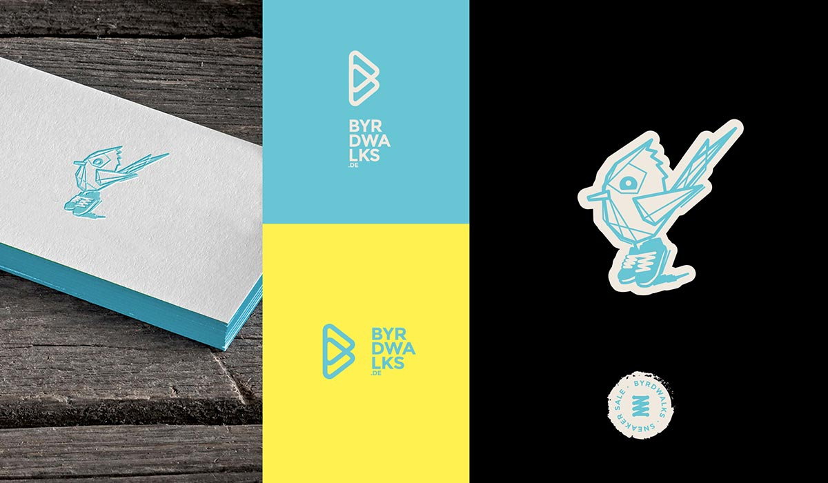 byrdwalks corporate design