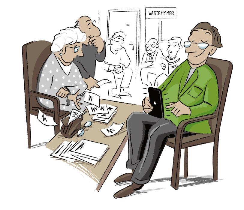 Illustration Medizin